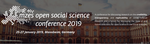 MZES Open Social Science Conference written on a photo of a building.